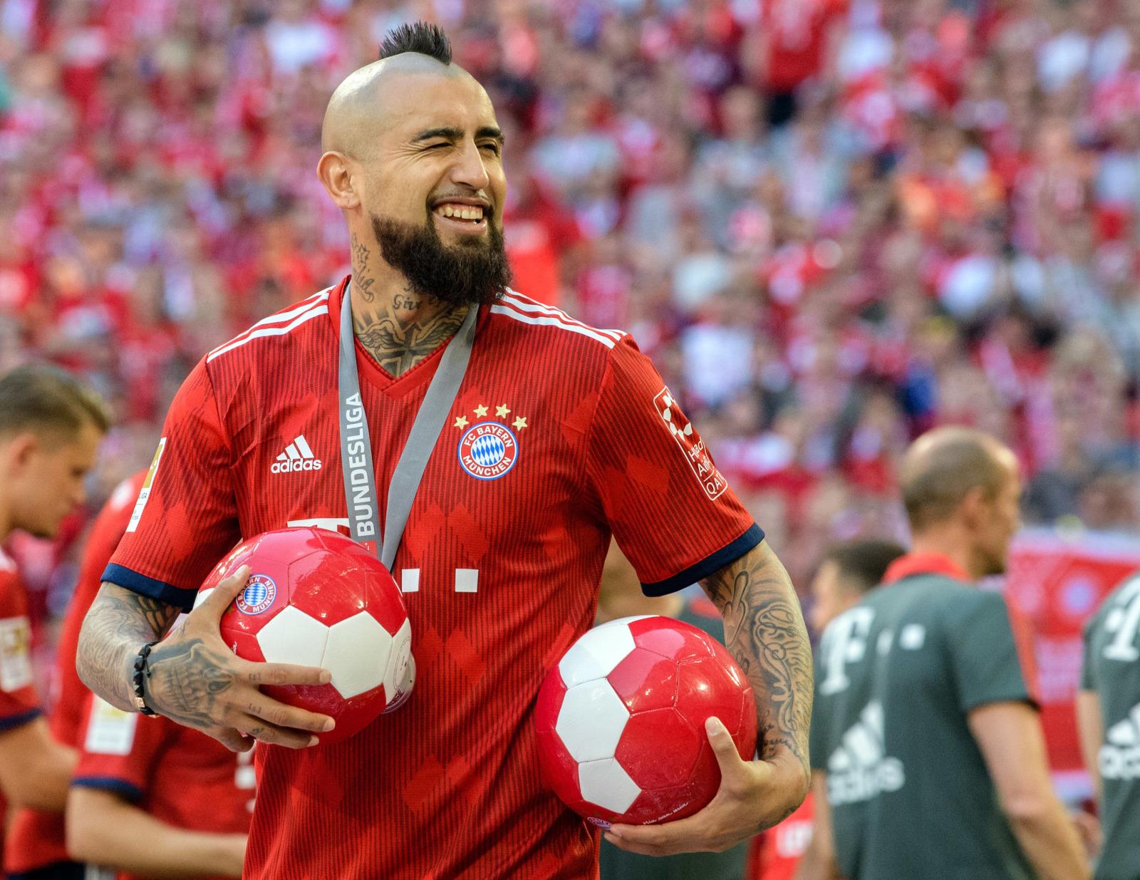 Vidal Fc Bayern