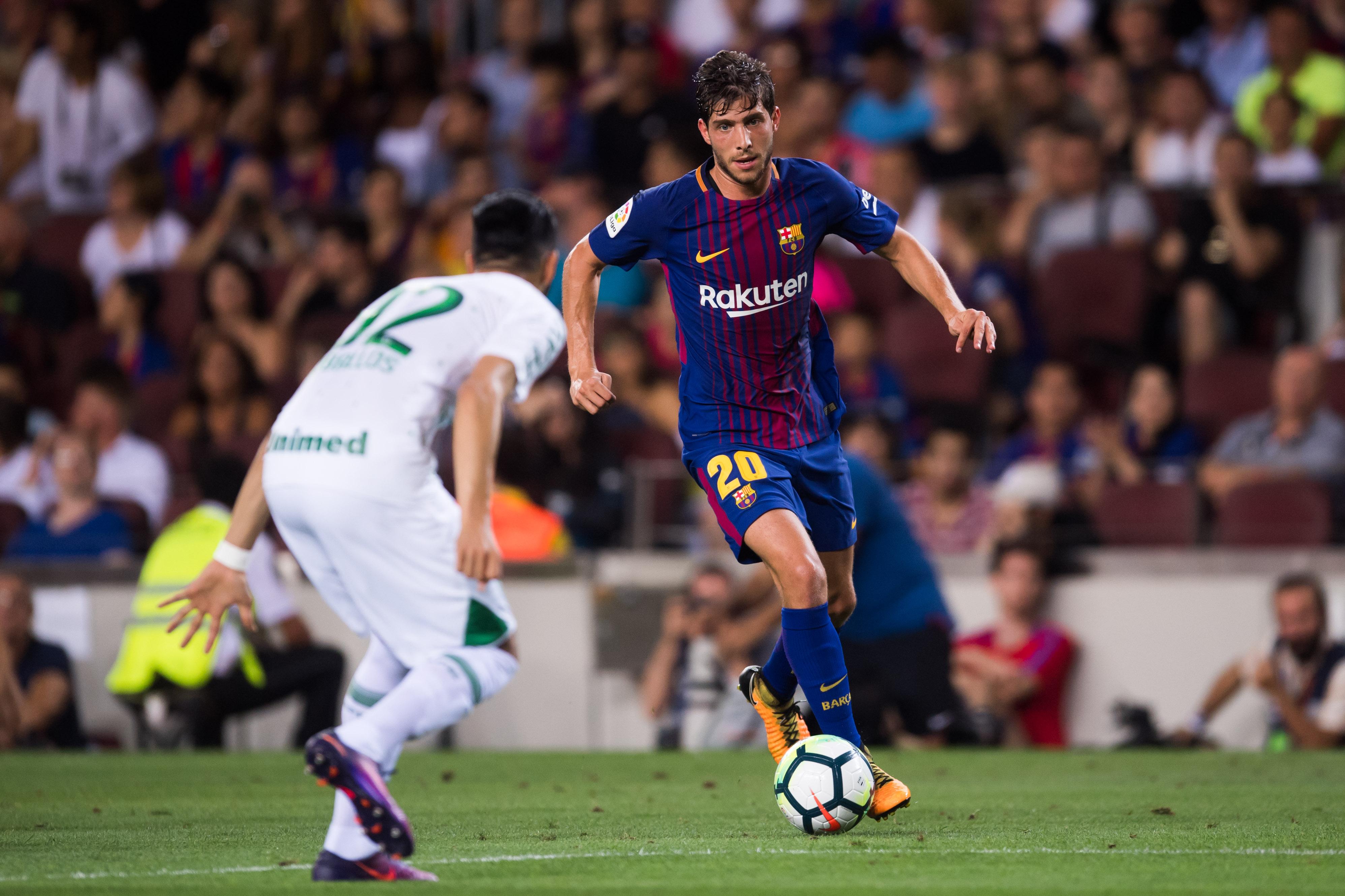 Fc Barcelona Transfer Rumour Update Sergi Roberto And Yerry Mina