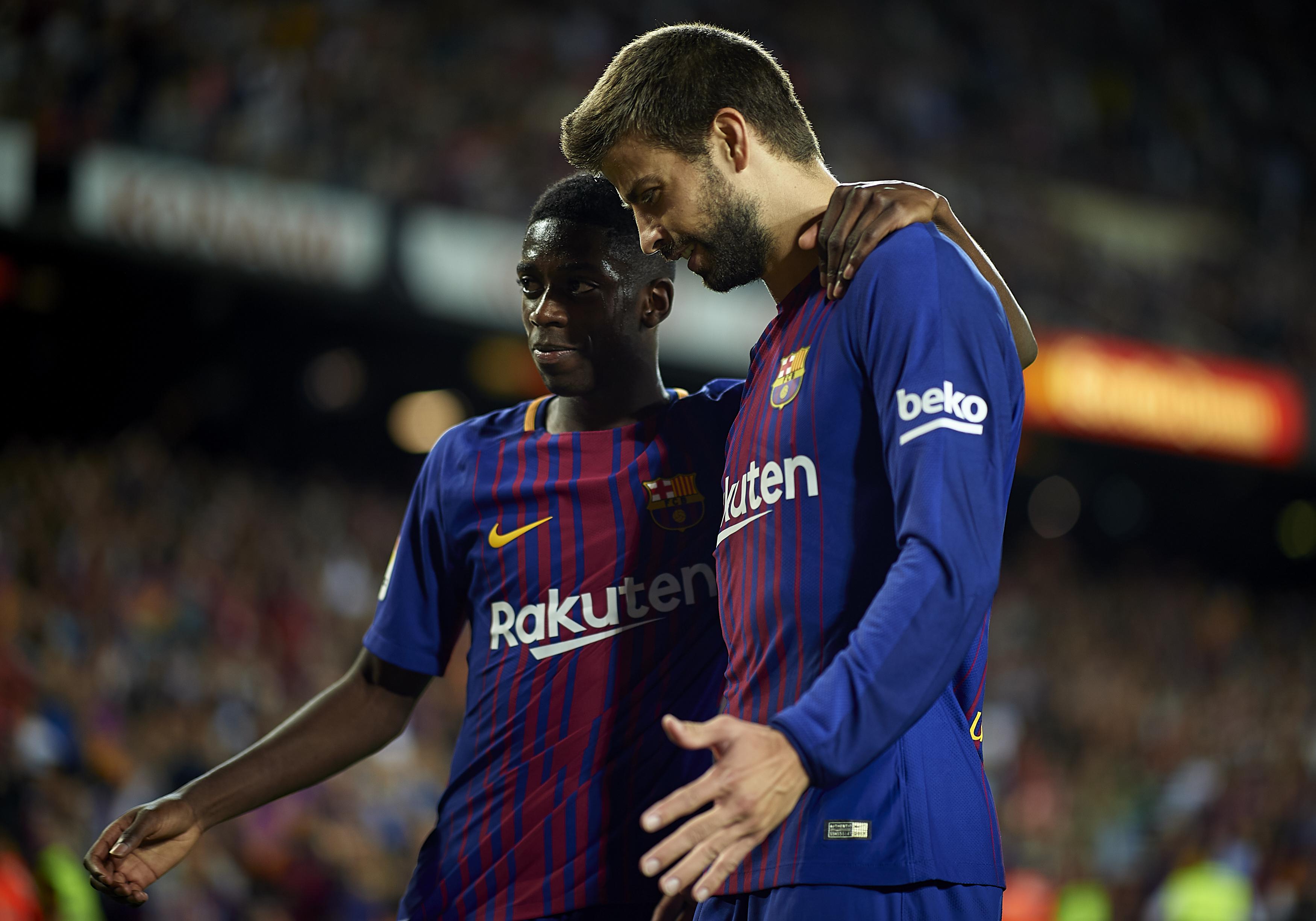 Ousmane Dembélé shines on debut as Barcelona thrash Espanyol 5 0