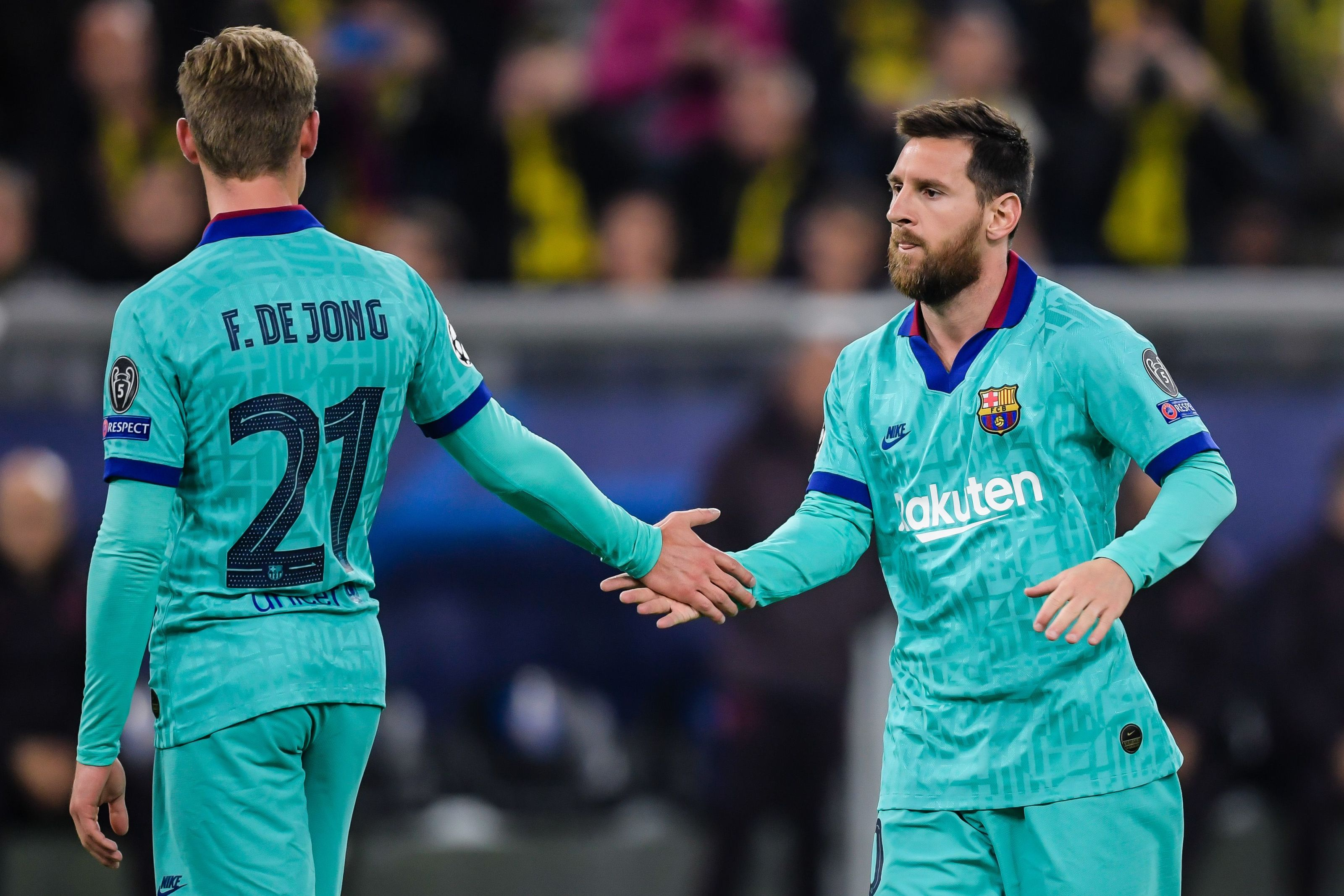 Frenkie de Jong reveals Lionel Messi's influence at Barcelona
